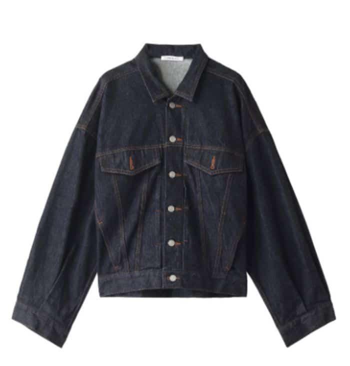 CURRENTAGEのデニムジャケット