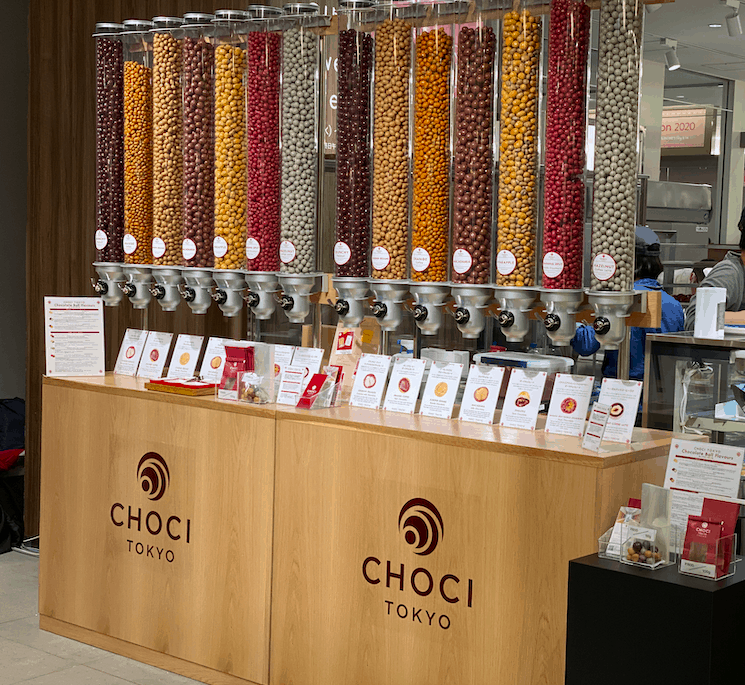 チェキ東京のチョコレート