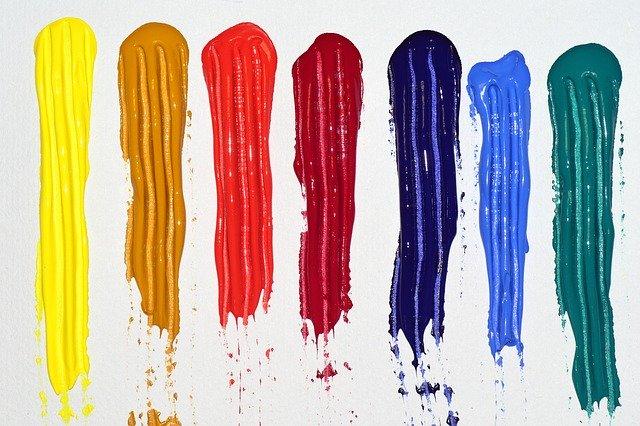 7色のペイント
