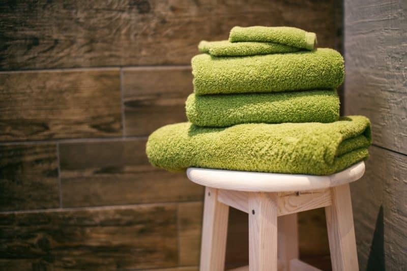 お風呂のタオル