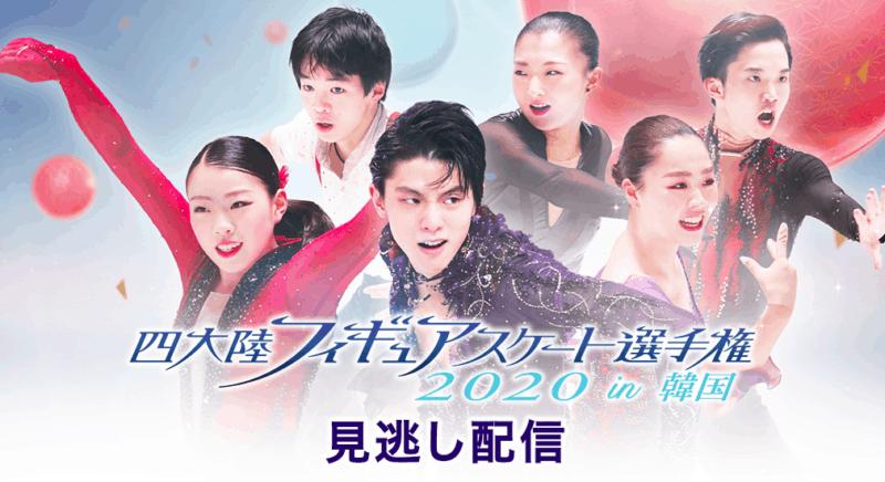 四大陸フィギュアスケート選手権2020