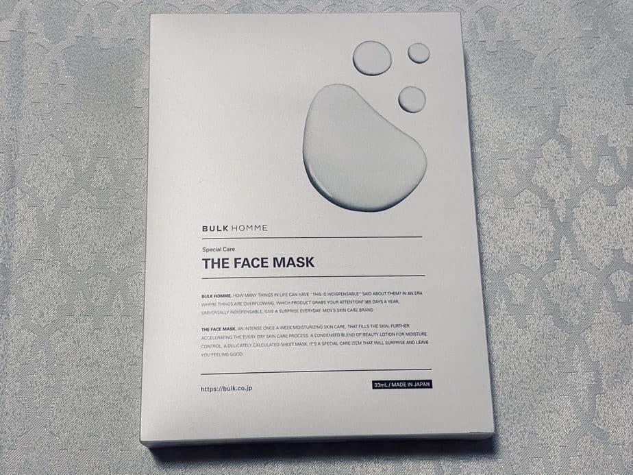 バルクオムのメンズマスク