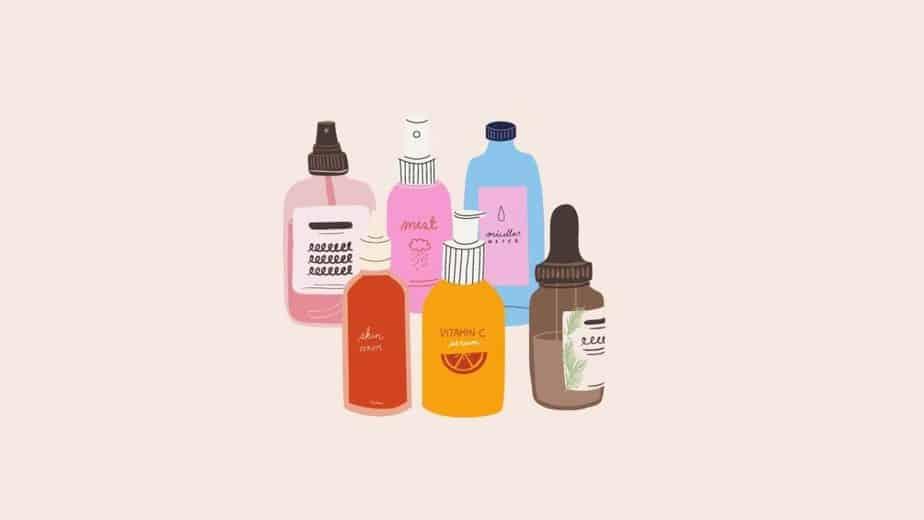 化粧水・乳液など後続のスキンケアへ