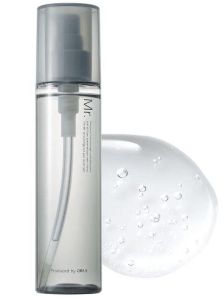 オルビスのミスタートライアルセットの化粧水