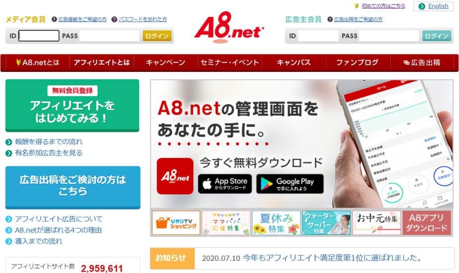 A8.netの特徴